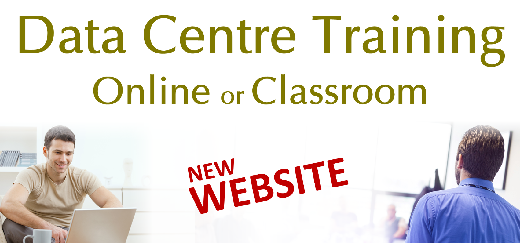 New Data Centre Training Website